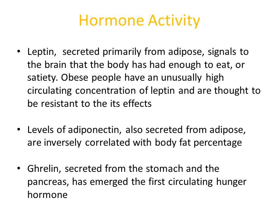 Hormone Activity