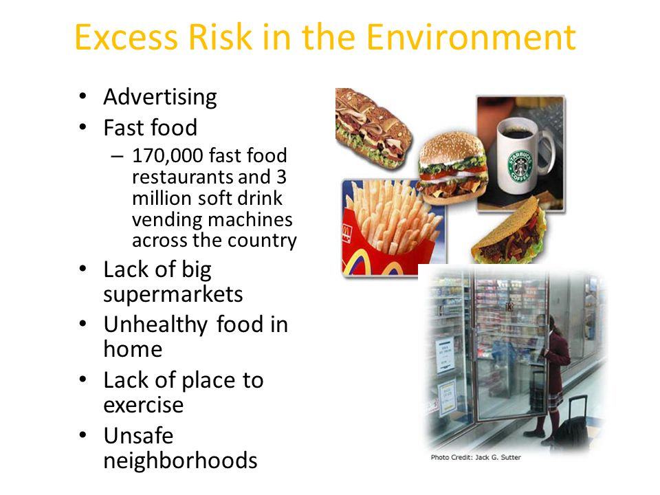 Excess Risk in the Environment