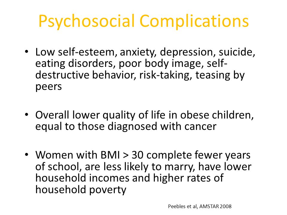 Psychosocial Complications