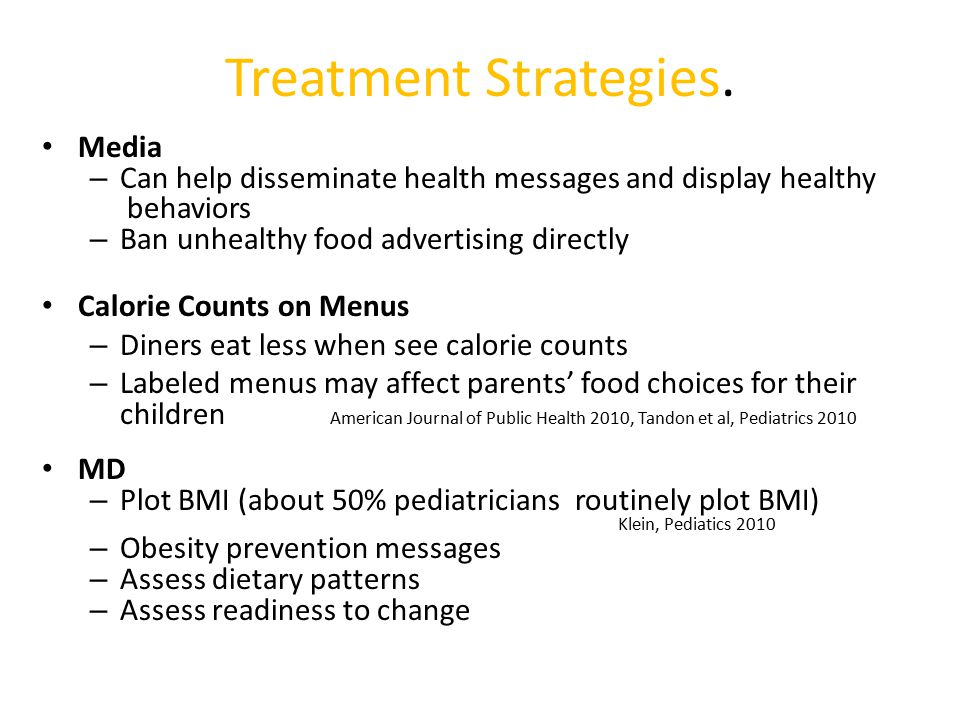 Treatment Strategies. Media