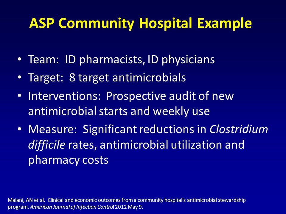 ASP Community Hospital Example