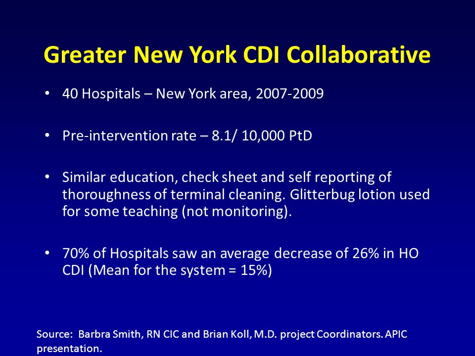 Greater New York CDI Collaborative