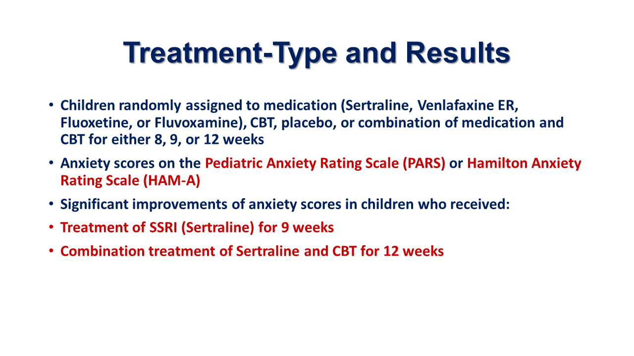 Treatment-Type and Results