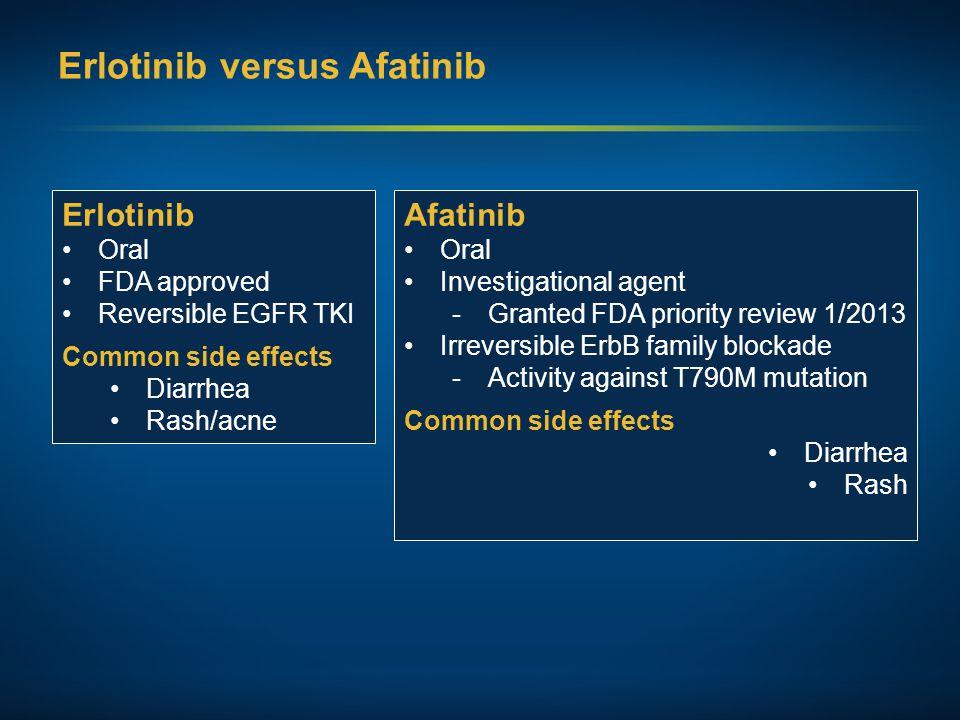 Erlotinib versus Afatinib