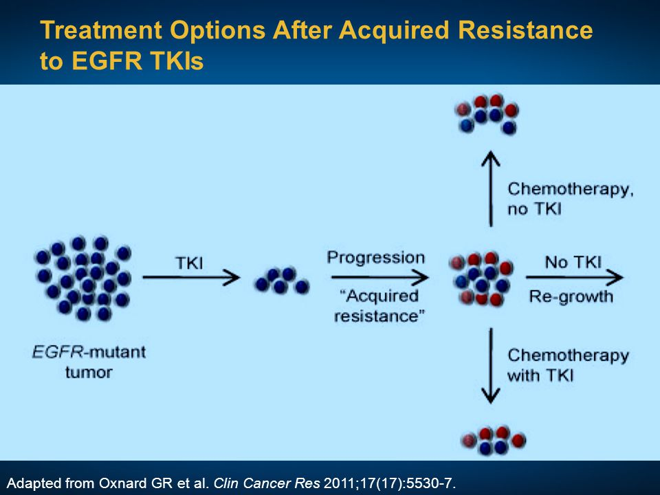 Treatment Options After Acquired Resistance to EGFR TKIs