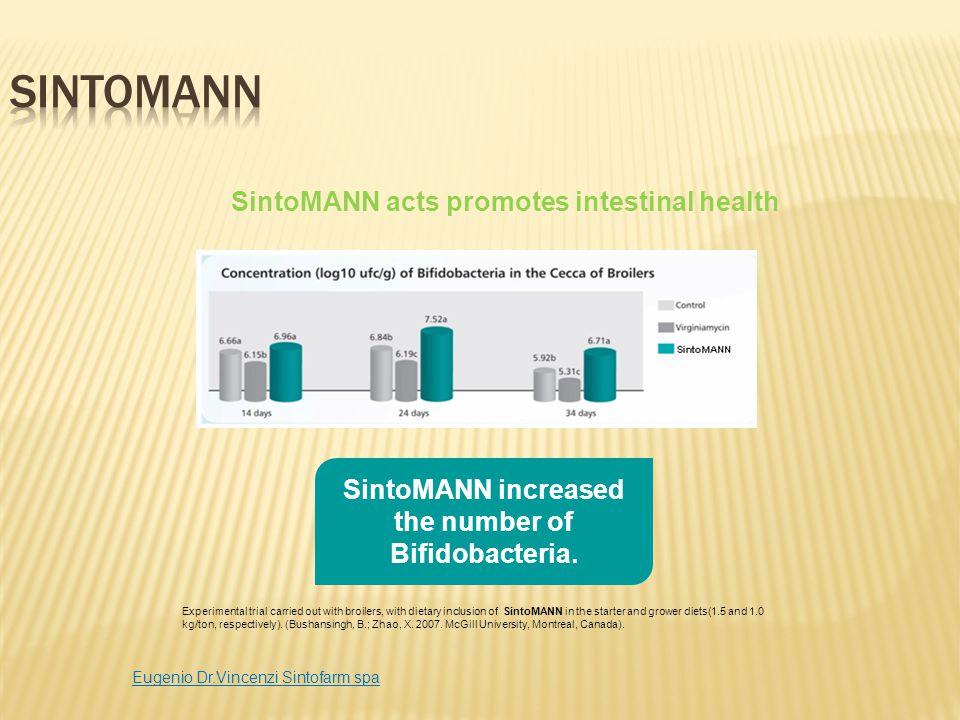SintoMANN SintoMANN acts promotes intestinal health