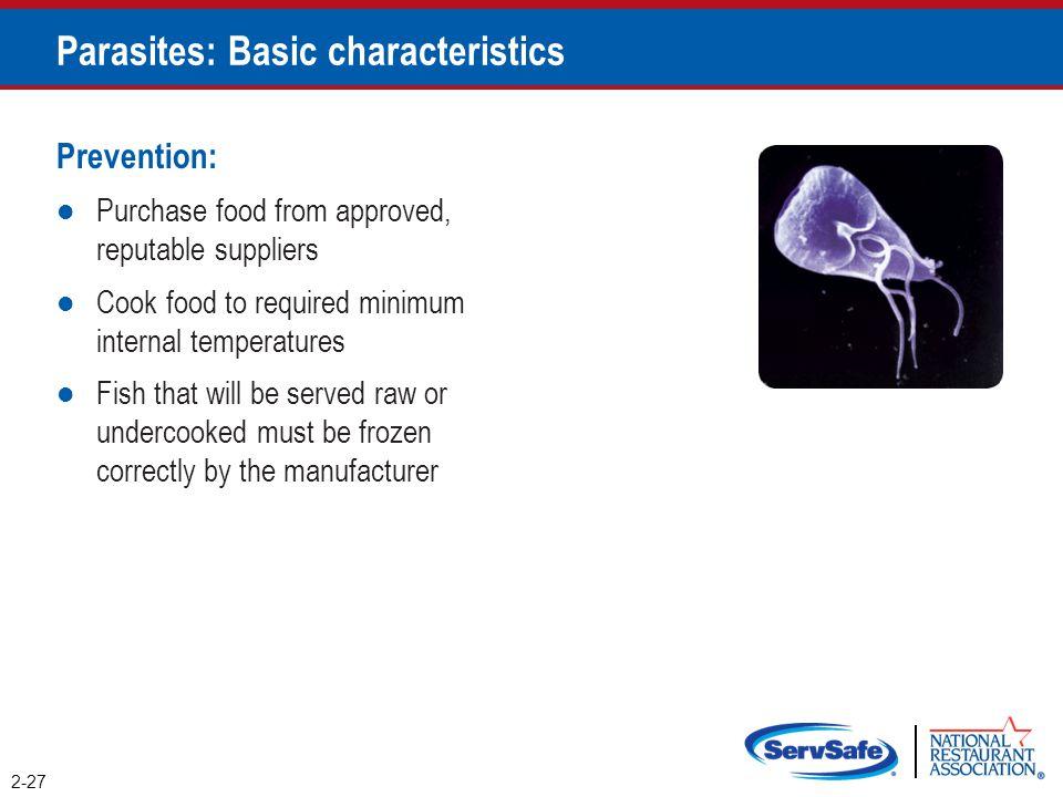 Parasites: Basic characteristics