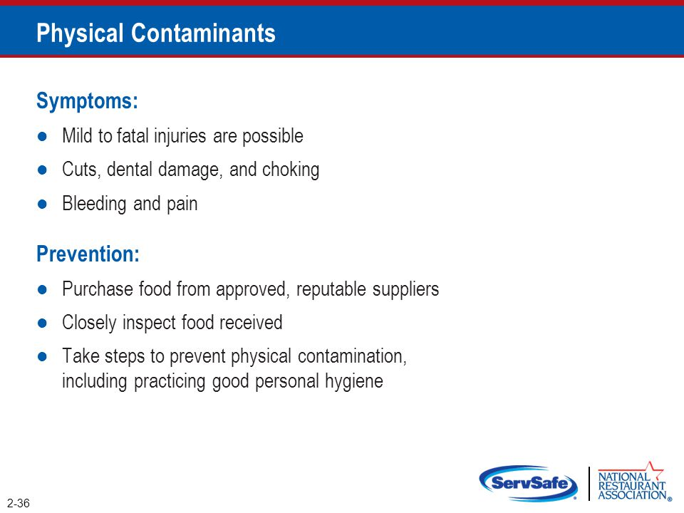 Physical Contaminants