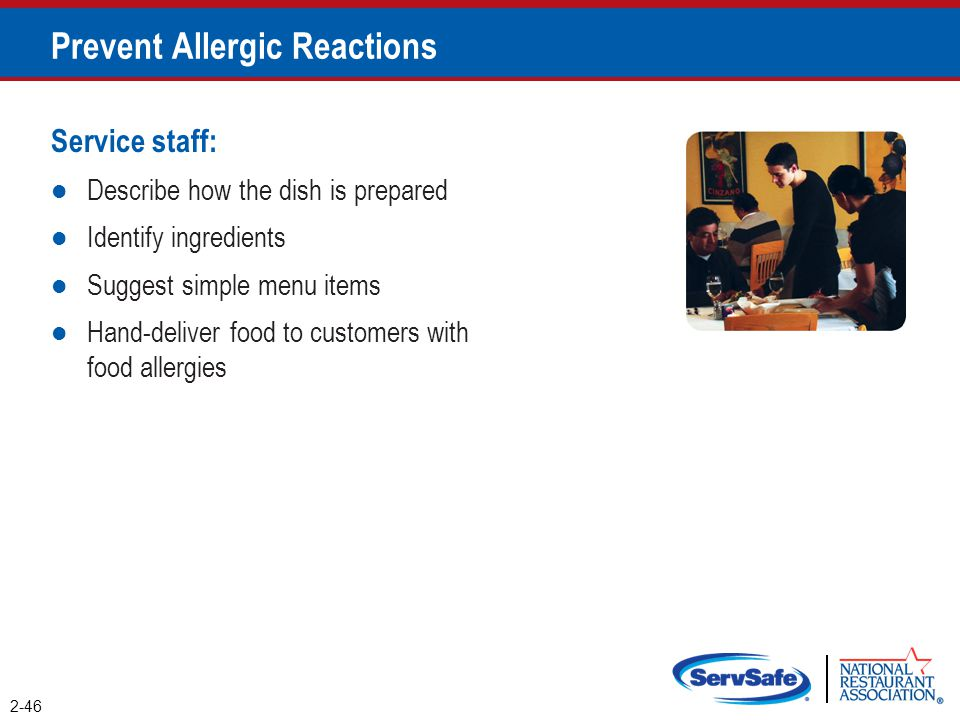 Prevent Allergic Reactions