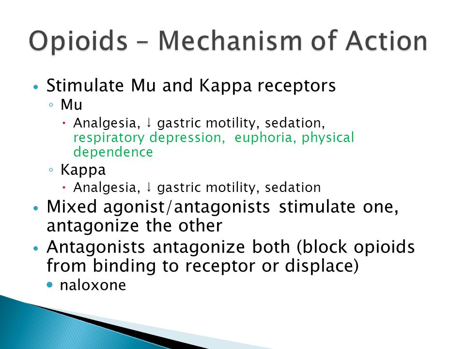 kappa agonists in management of pain and opioid addiction Case studies: acute pain management in patients with opioid addiction shannon levesque, pharmd clinical pharmacist.