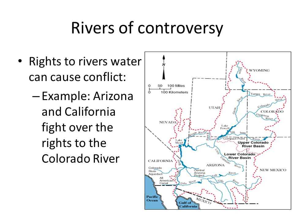 Rivers of controversy Rights to rivers water can cause conflict: