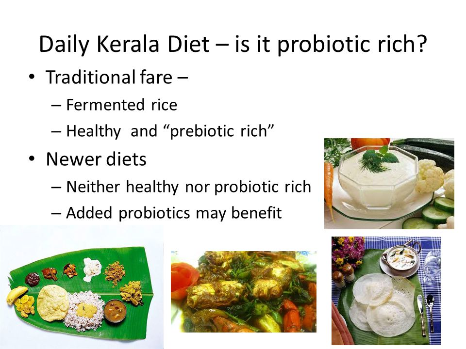 Daily Kerala Diet – is it probiotic rich