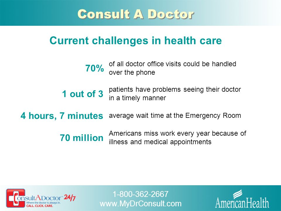 Current challenges in health care