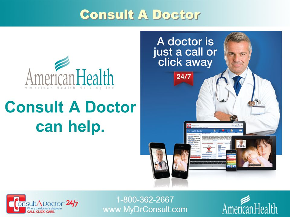 Consult A Doctor can help.