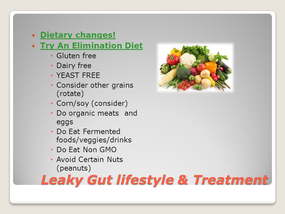 Leaky Gut lifestyle & Treatment