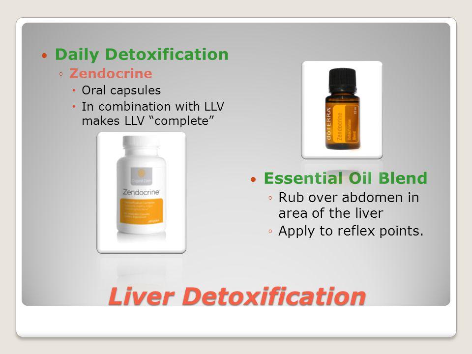 Liver Detoxification Daily Detoxification Essential Oil Blend