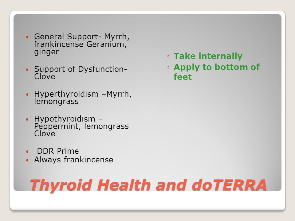 Thyroid Health and doTERRA