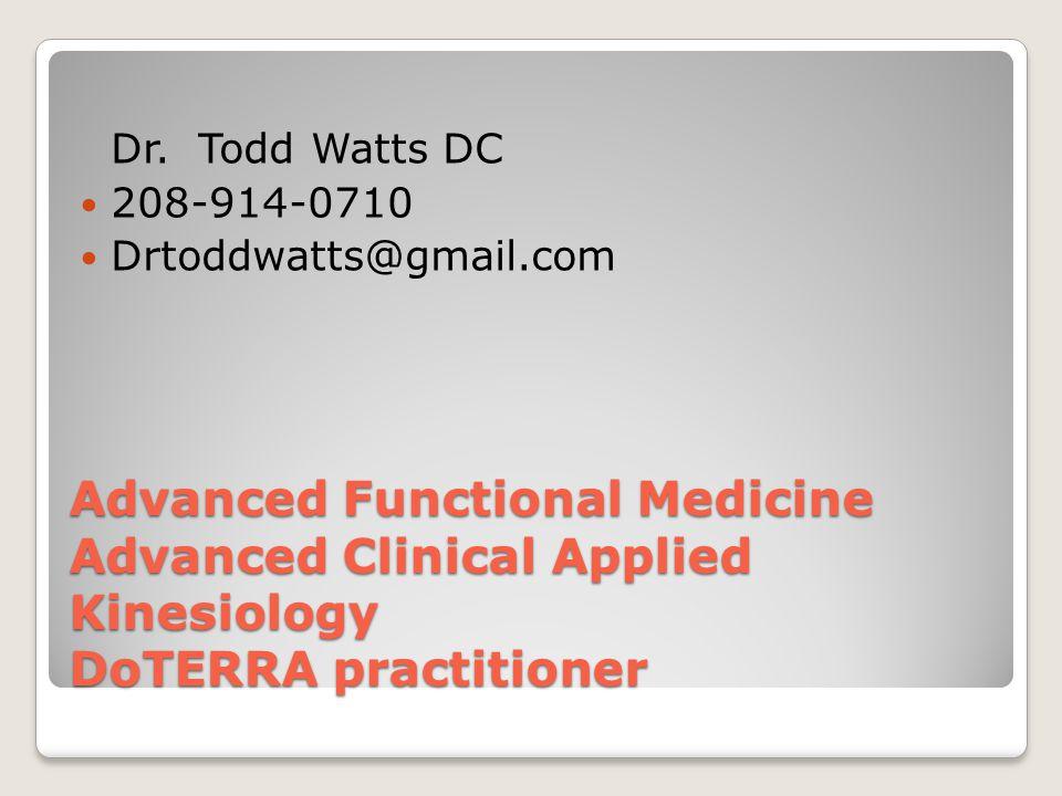 Dr. Todd Watts DC 208-914-0710. Drtoddwatts@gmail.com.
