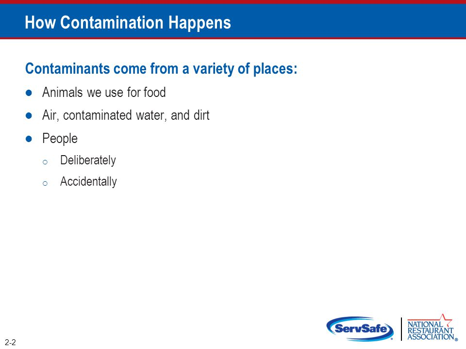 How Contamination Happens