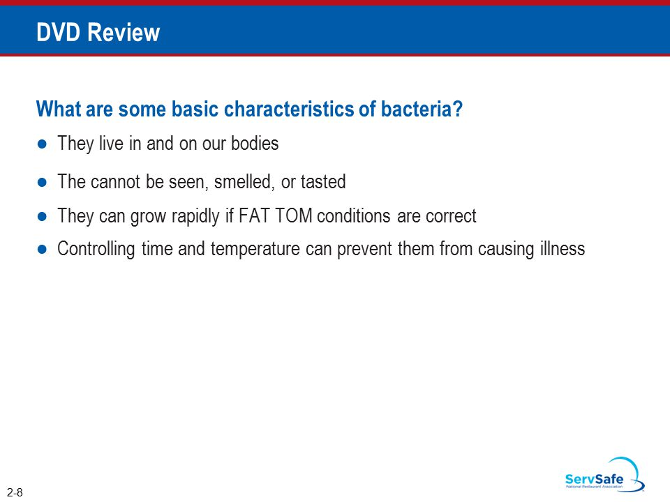 DVD Review What are some basic characteristics of bacteria