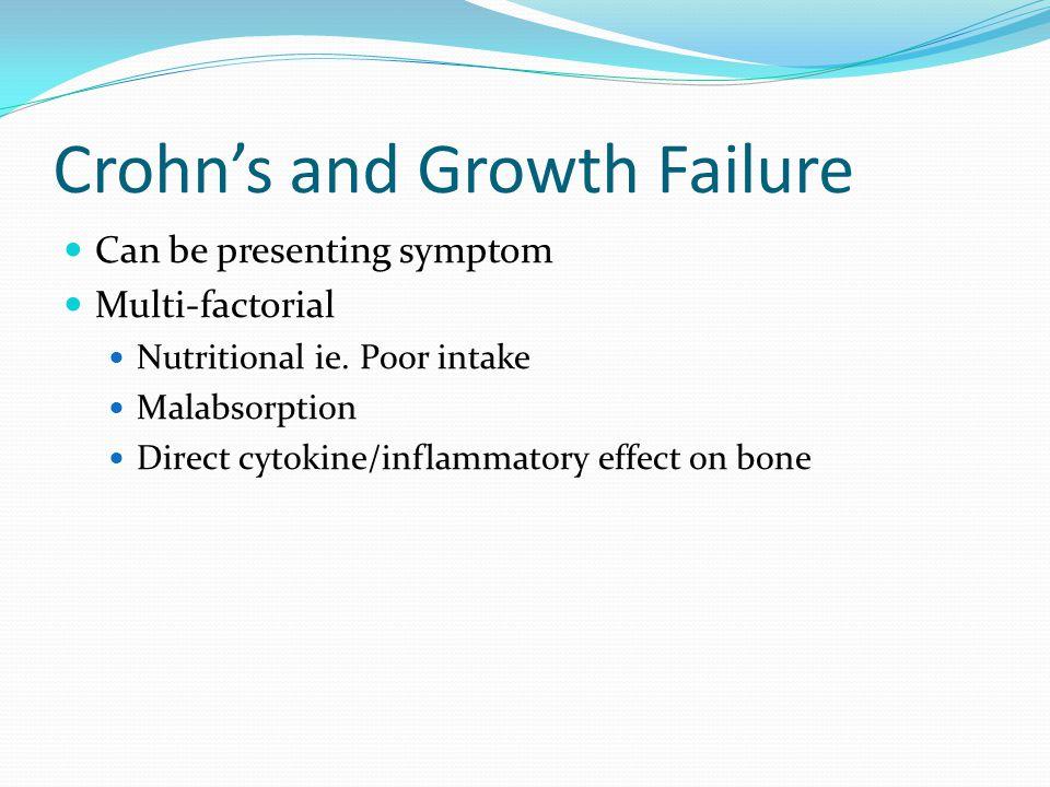 Crohn's and Growth Failure