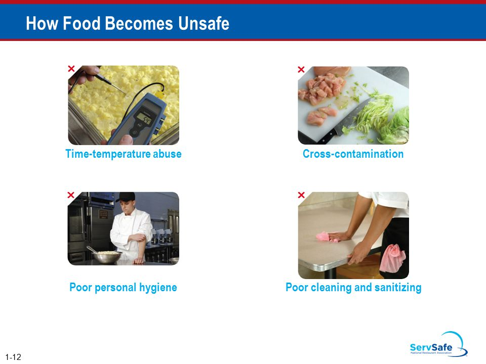 How Food Becomes Unsafe