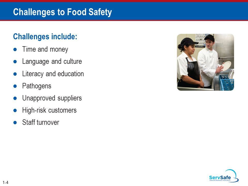 Challenges to Food Safety