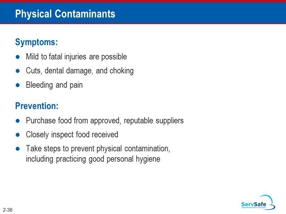 Physical Contaminants