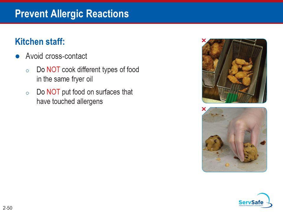Prevent Allergic Reactions