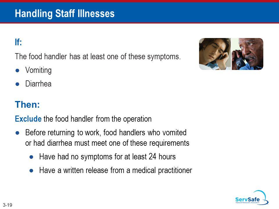 Handling Staff Illnesses