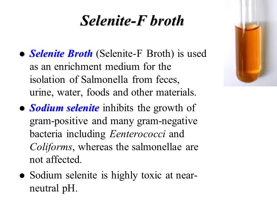 Selenite-F broth