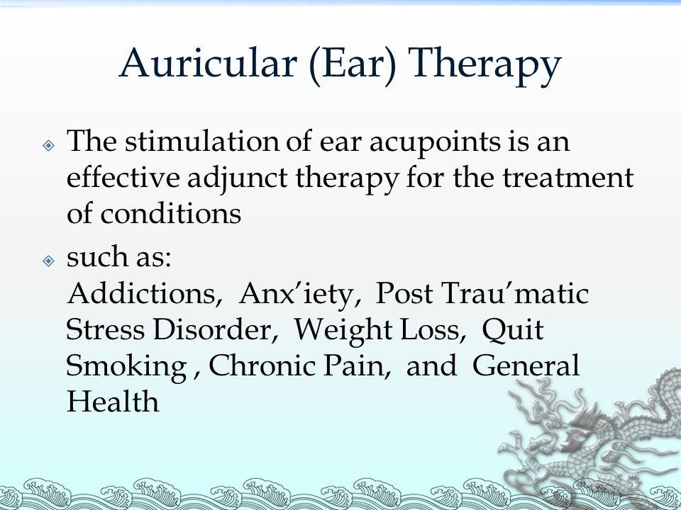 Auricular (Ear) Therapy