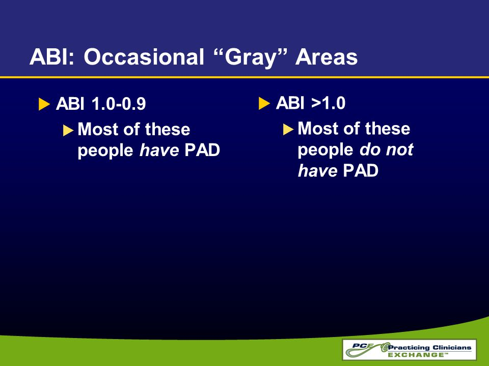 ABI: Occasional Gray Areas
