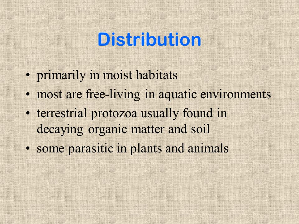 Distribution primarily in moist habitats