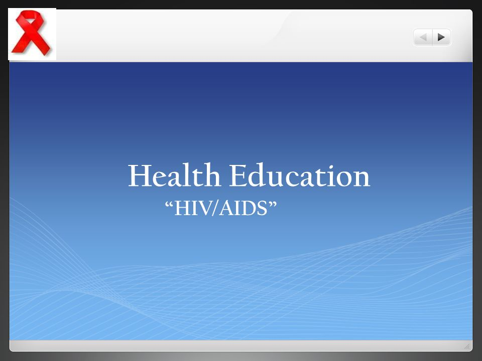 Health Education HIV/AIDS