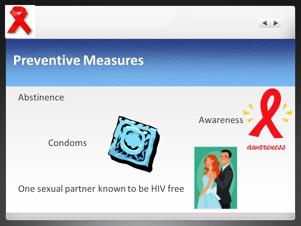Preventive Measures Abstinence Awareness Condoms