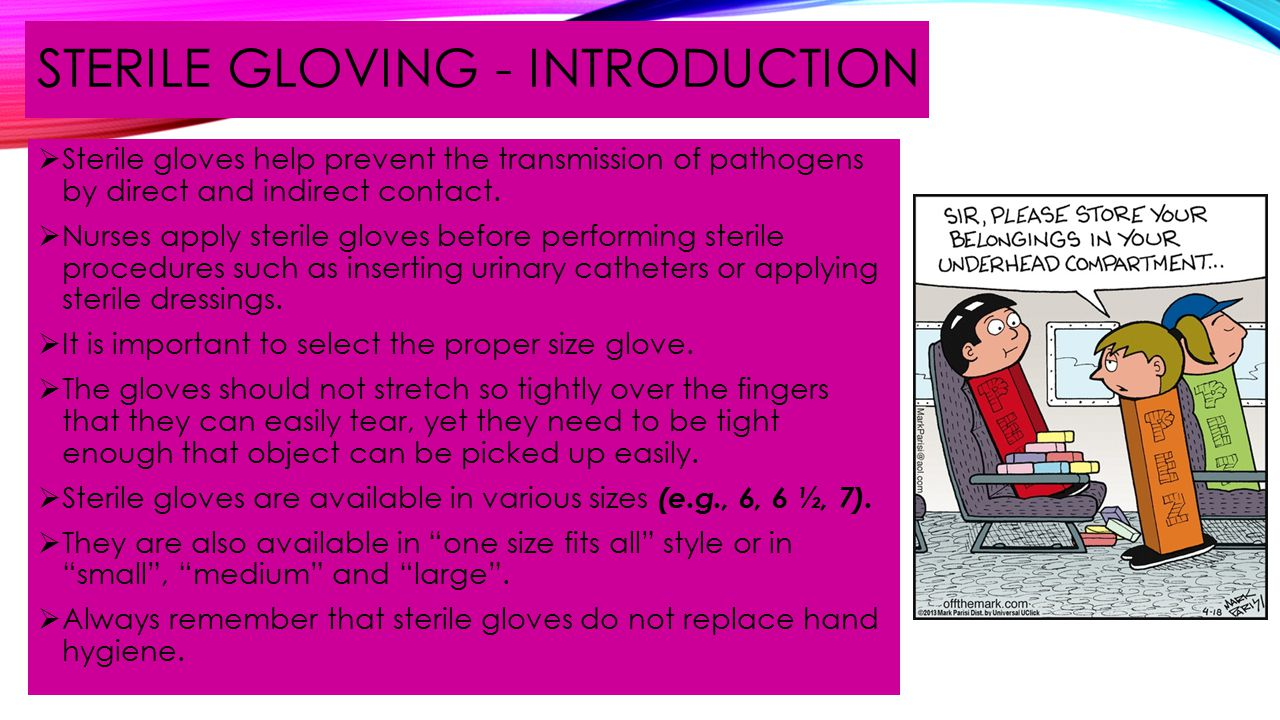 STERILE GLOVING - INTRODUCTION