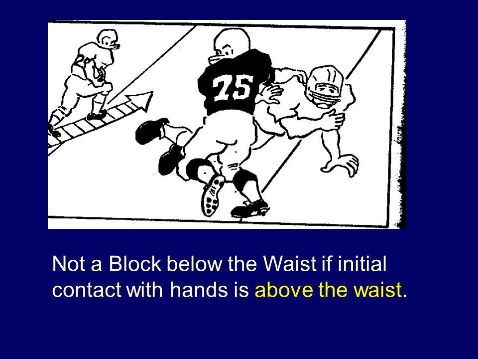 Not a Block below the Waist if initial