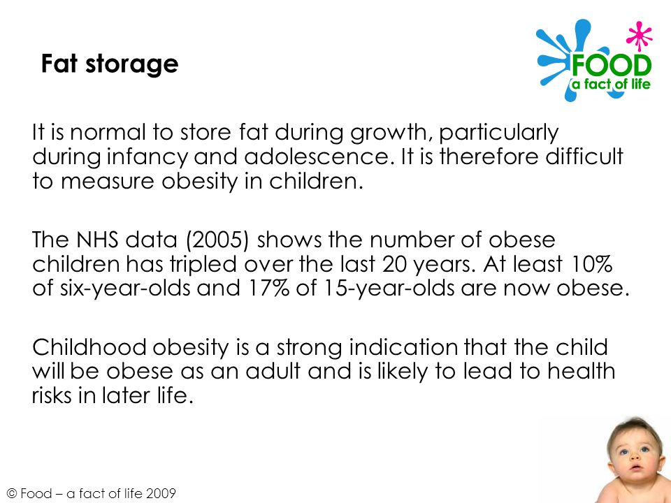 Fat storage