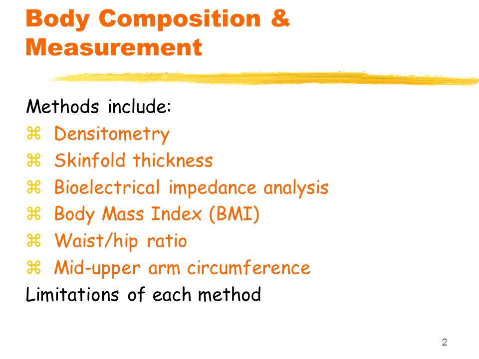 Body Composition & Measurement