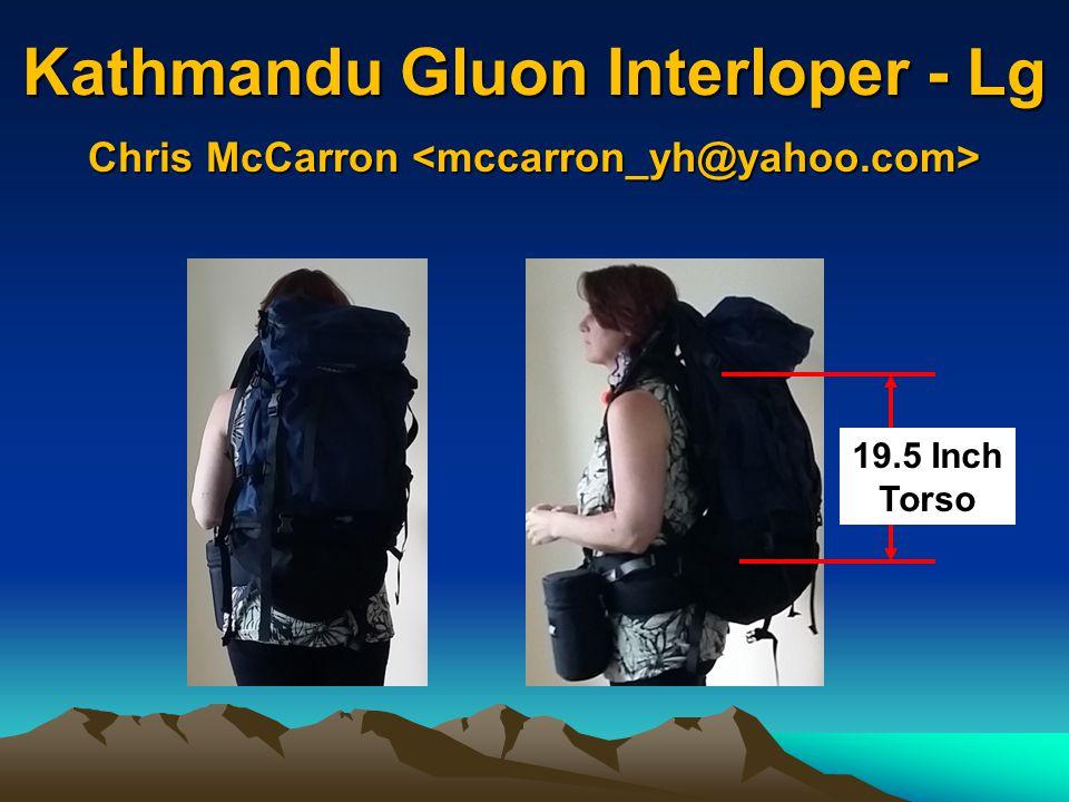 Kathmandu Gluon Interloper - Lg