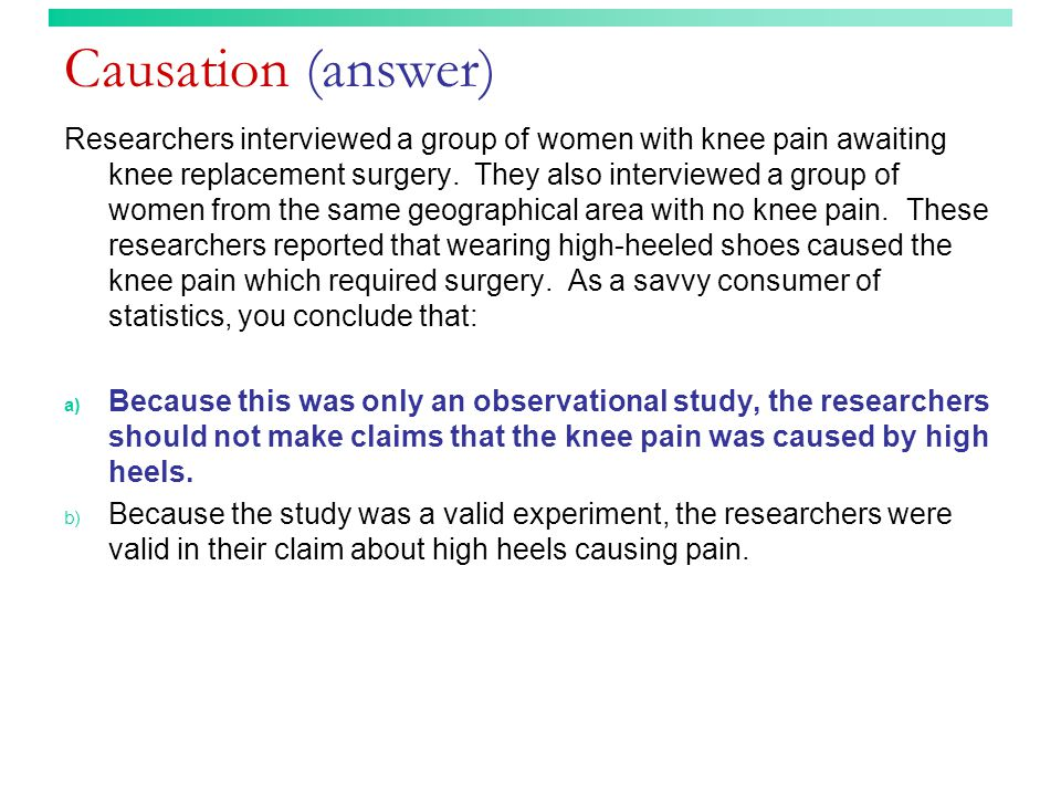 Causation (answer)