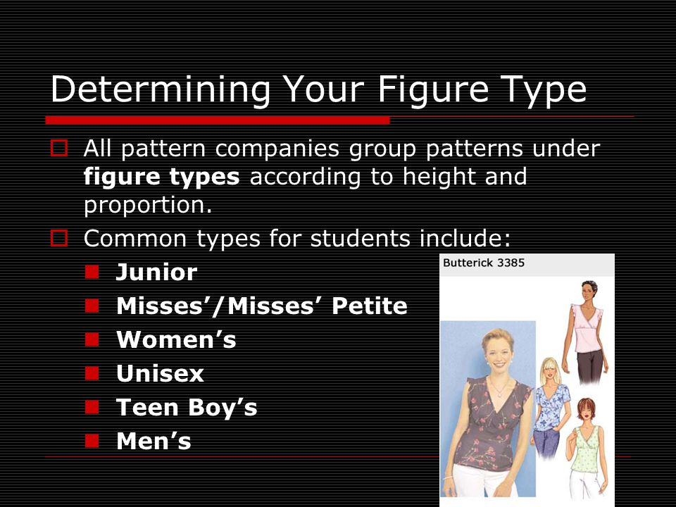 Determining Your Figure Type
