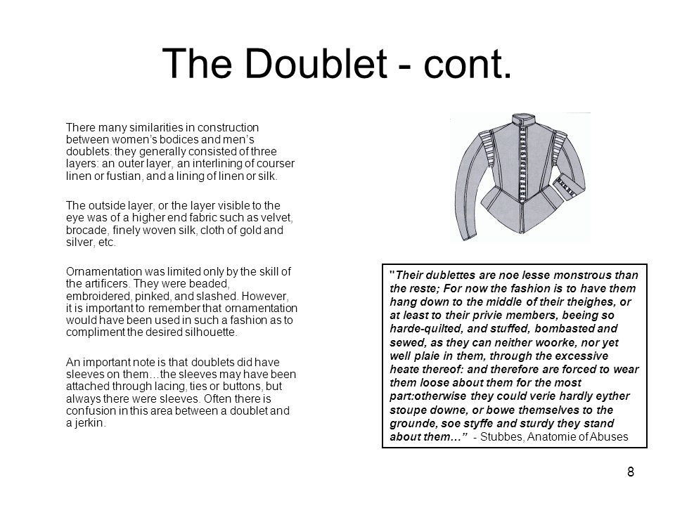 The Doublet - cont.