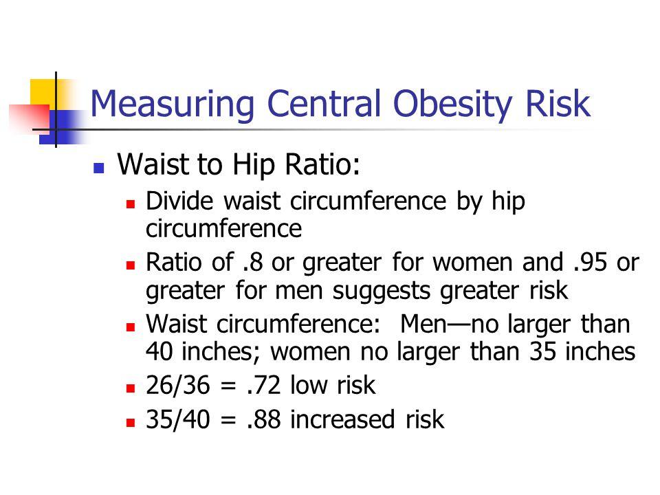 Measuring Central Obesity Risk