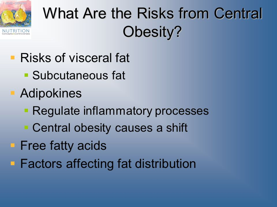 What Are the Risks from Central Obesity