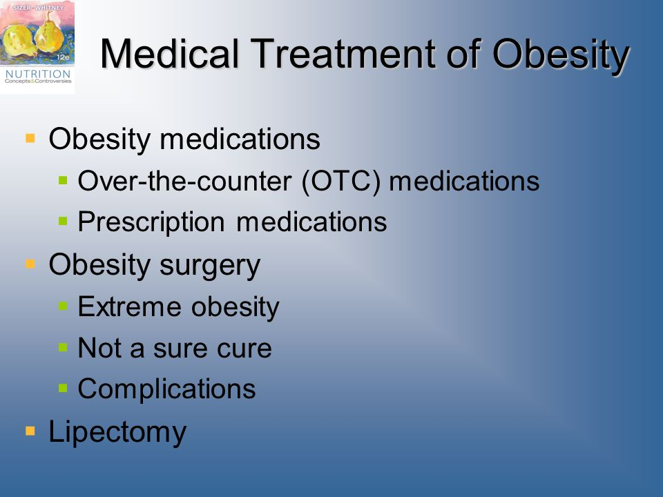 Medical Treatment of Obesity
