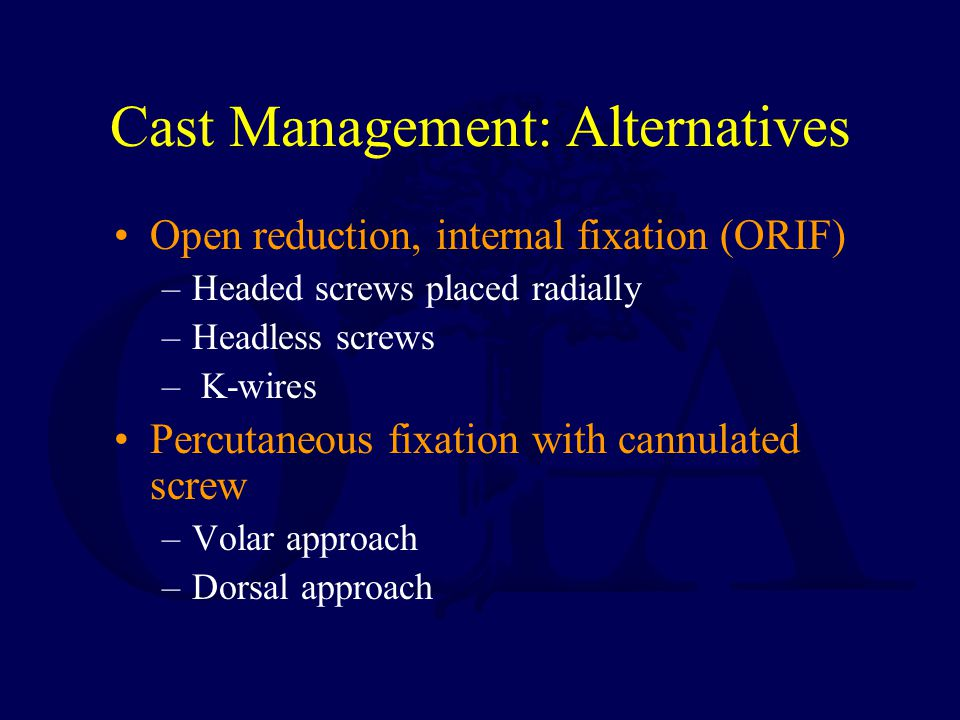 Cast Management: Alternatives