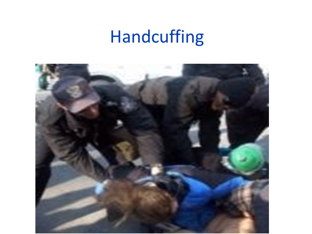Handcuffing