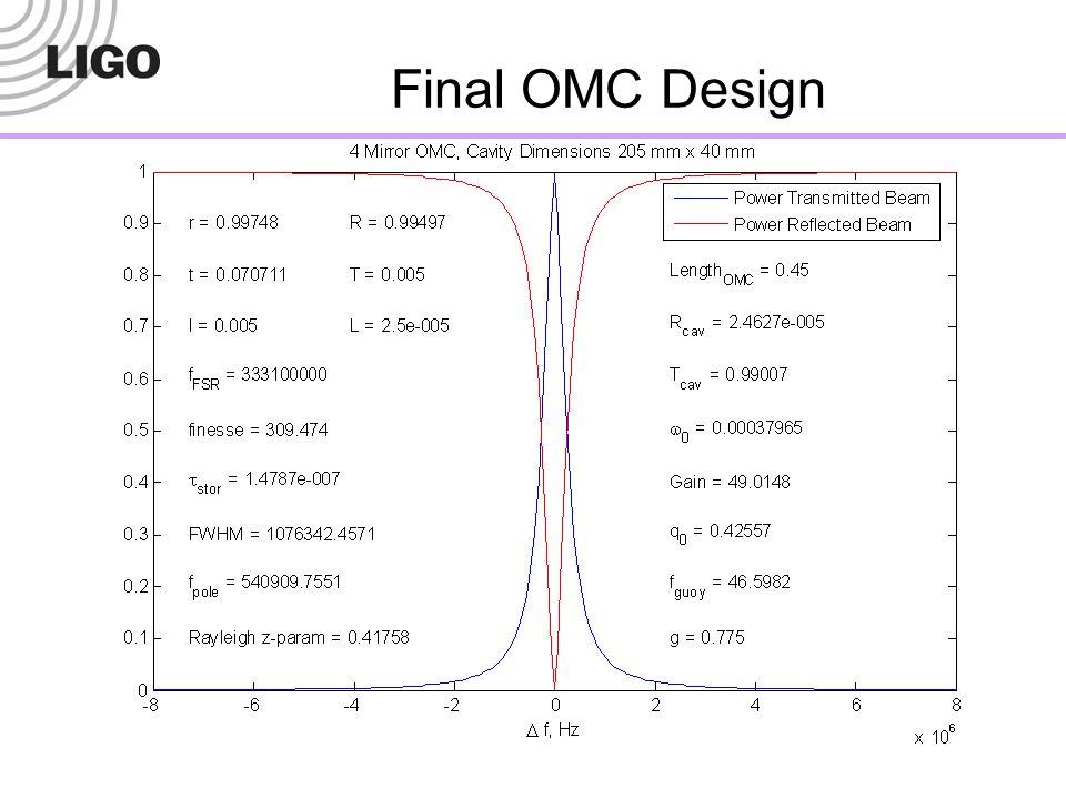 Final OMC Design